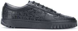 Salvatore Ferragamo Gancini-embossed sneakers