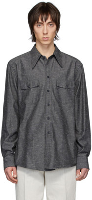 Lemaire Grey Western Shirt