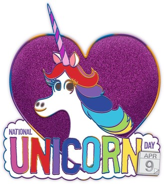 Disney Rainbow Unicorn Inside Out National Unicorn Day 2020 Pin of the Month Limited Edition