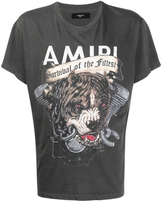 Amiri printed Pitbull T-shirt