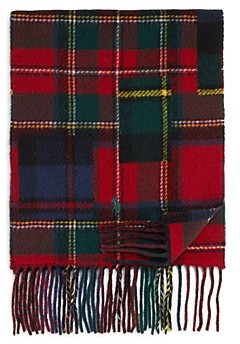 Polo Ralph Lauren Plaid Patchwork Scarf