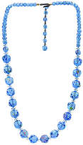 One Kings Lane Vintage Laguna Graduated Crystal Necklace
