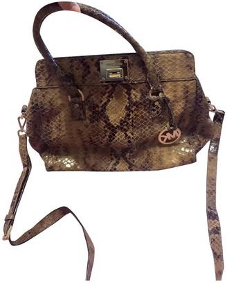 Michael Kors Brown Leather Handbags