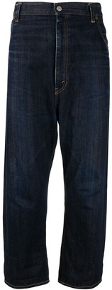 Levi's x Levis high rise cropped jeans