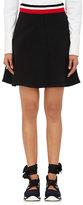 Marni Women's Neoprene A-Line Miniskirt-BLACK