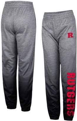 Colosseum Youth Heathered Gray Rutgers Scarlet Knights Electric Mayhem Pants