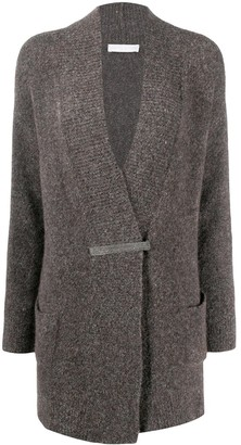 Fabiana Filippi Single-Breasted Fitted Cardigan