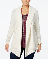 Style&Co. Style & Co. Plus Size Shawl-Collar Cardigan, Only at Macy's