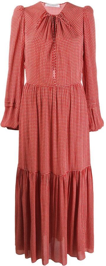 Philosophy di Lorenzo Serafini Polka Dot Print Maxi Dress
