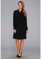 Pendleton Travel Tricotine Traveler Dress (Black Travel Tricotine) - Apparel
