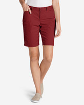 Eddie Bauer Women's Legend Wash Curvy Stretch Shorts - 10""