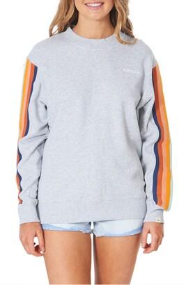 Rip Curl Golden Days Rainbow Cotton Sweatshirt