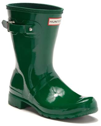 Hunter Tour Short Gloss Rain Boot