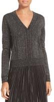 Diane von Furstenberg Women's Adelyn Metallic Knit Cardigan