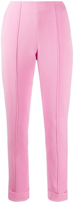 Alex Perry high-waisted turn up cuff trousers