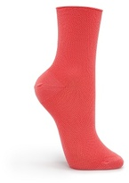 MANGO Mesh effect socks