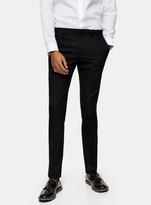 TopmanTopman Black Super Skinny Fit Suit Trousers