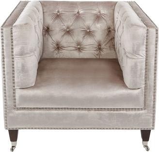 Safavieh Couture Miller Tufted Velvet Chair