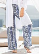 Together Wide Leg Printed Trousers