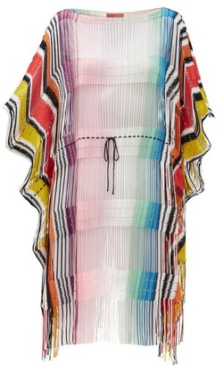 Missoni Mare Drawstring-waist Striped Cover Up - Multi