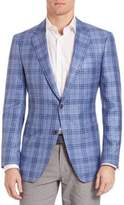 Saks Fifth Avenue COLLECTION BY SAMUELSOHN Classic-Fit Plaid Sportcoat
