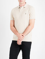 Polo Ralph Lauren Embroidered-logo cotton-piqué polo shirt