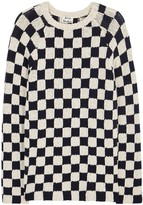 Acne Studios Korus Checked Chunky-knit Jumper