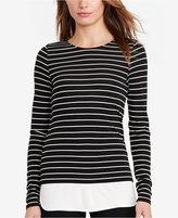 Lauren Ralph Lauren Striped Jersey Long-Sleeve T-Shirt