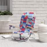 Regalado Reclining Beach Chair with Cushion Brayden Studio