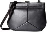 Ecco Ella Clutch (Magnet Metallic) Clutch Handbags