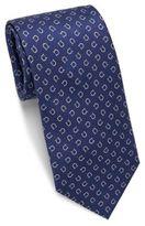 Salvatore Ferragamo Horseshoe Print Silk Tie