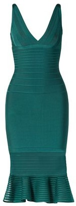 Herve Leger Knee-length dress