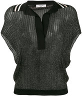 Lanvin - short sleeve knitted blouse