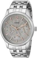 GUESS GUESS? Men's U0474G2 Handsome -Tone Multi-Function Watch