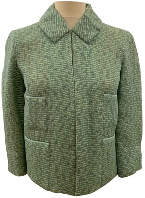 Marc Jacobs Green Silk Jacket for Women
