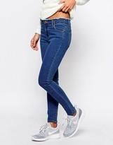 Boohoo Frayed Waist Skinny Jean