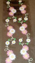 Martha Stewart Crafts Pink-white Daisy Vine Stickers - 6 Pcs