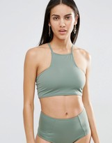 Missguided Mix & Match Cross Back Bikini Top