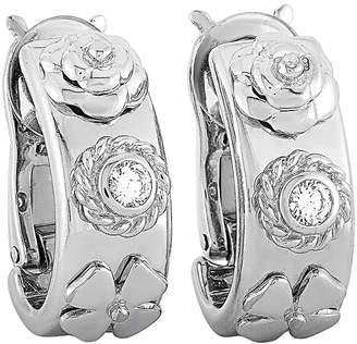 Chanel 18K 0.35 Ct. Tw. Diamond Clip-On Earrings