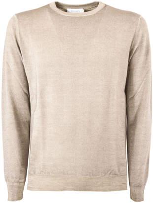 Cruciani Beige Wool Sweater
