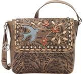 American West Women's Love Me Tender Crossbody Bag