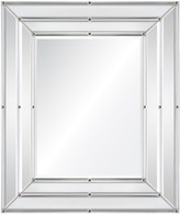 The Well Appointed House Mirror Framed Wall Mirror with Nail Head Accents