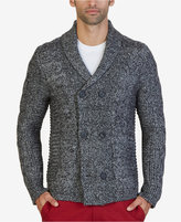 Nautica Men's Cable-Knit Double-Breasted Cardigan