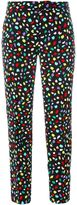 Moschino printed trousers - women - Polyester - 40