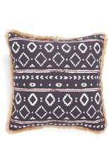 Levtex Geometric Print Fringe Pillow