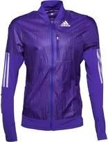 adidas Mens Adizero Formotion Running Track Jacket Night Flash