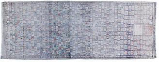 F.J. Kashanian 2'x7' Turkish Alia Rug - Gray