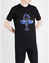 Lanvin Lobster-printed Cotton-jersey T-shirt