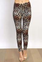 New Mix Leopard Print Leggings
