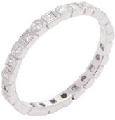 Ila Tasmin 18K White Gold & 0.44 Total Ct. Diamond Eternity Band Ring